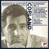 Copland Symphony No 3 Symphony For Organ And Orchestra Biggs Bernstein артикул 9450b.