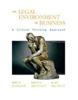 Legal Environment of Business (5th Edition) артикул 9472b.